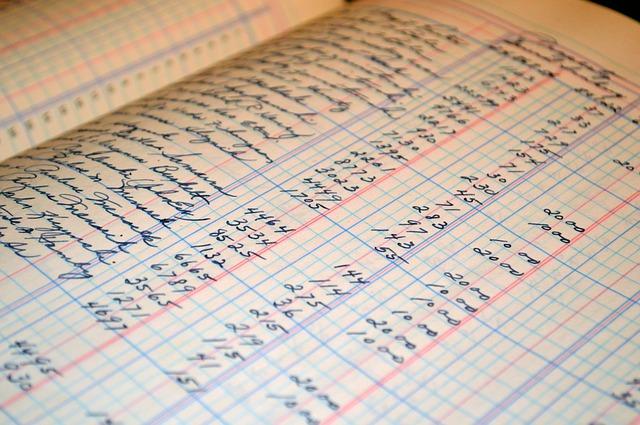 Ordnungssystem Buchhaltung